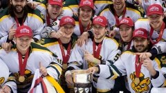 Alberta Golden Bears double up UNB Varsity Reds for CIS men's hockey title Article Image 0
