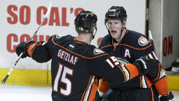 Corey Perry and Ryan Getzlaf