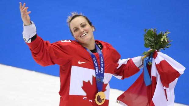 b3c267c1b60 Poulin to captain Canada in Pyeongchang - TSN.ca