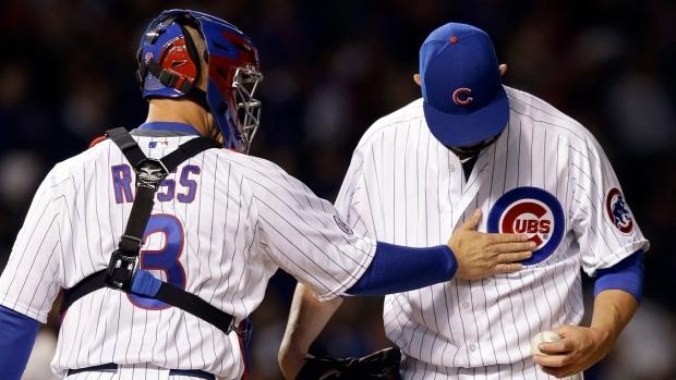 Cubs P Lester sets hitless mark to start MLB career ...