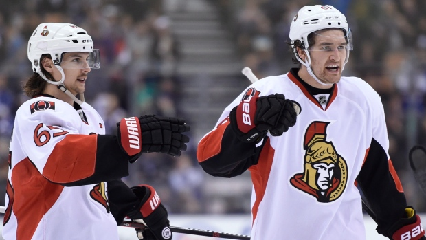 Senators Mark Stone Erik Karlsson