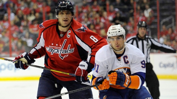 Alex Ovechkin and John Tavares