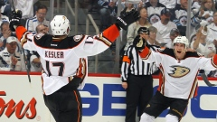 Ryan Kesler and Jakob Silfverberg