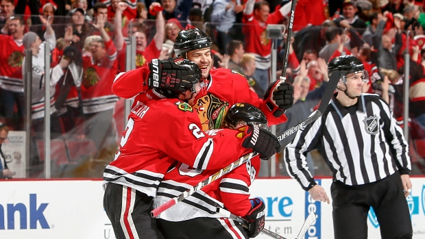 Brent Seabrook Duncan Keith Patrick Kane