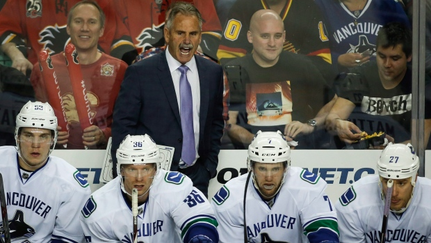 Canucks Willie Desjardins