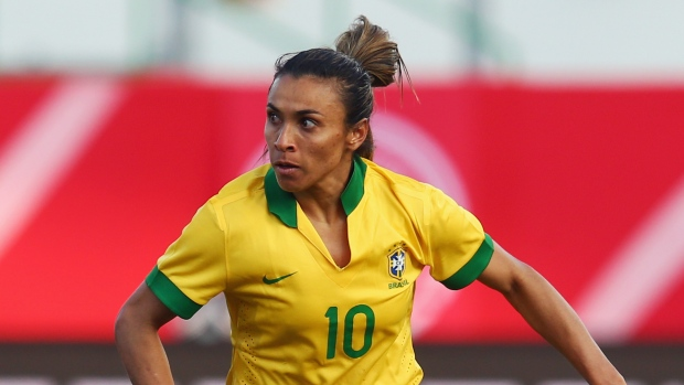 Cristiane hits treble as Brazil cruise to victory Soccer