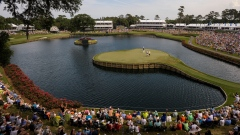 The island 17th hole at Sawgrass
