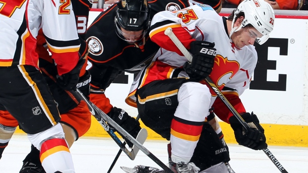 Ducks Present Problems For Monahan Line