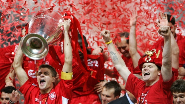 Liverpool says goodbye to Stevie G.