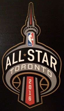 2016 NBA All-Star Game logo Toronto
