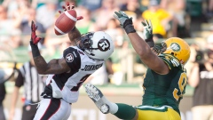 Redblacks Jovon Johnson Eskimos Eddie Steele