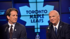 Brendan Shanahan and Lou Lamoriello