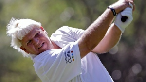 Daly shares lead on PGA Tour Champions