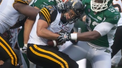 Anthony Allen scores two TDs as Roughriders beat Tiger-Cats 31-10 Article Image 0