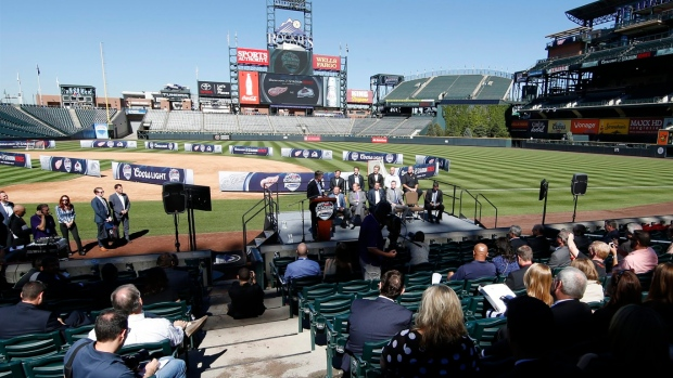 Take me out to the hockey game: Avs eager to host Red Wings in outdoor game at Coors Field Article Image 0