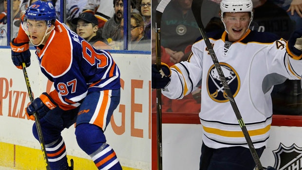 Connor McDavid and Jack Eichel