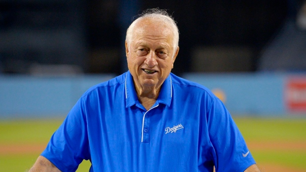 Lasorda recovering after pacemaker replacement surgery