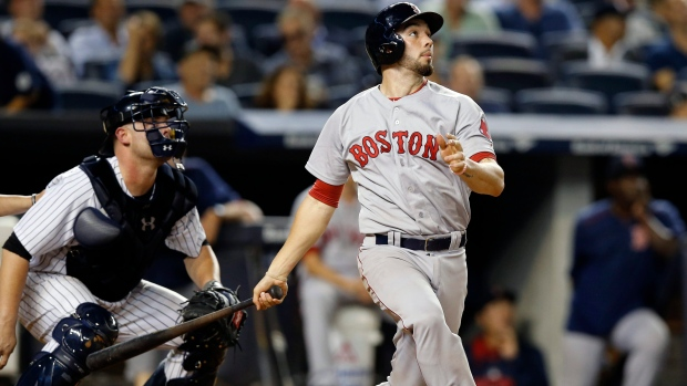 Red Sox designate Blake Swihart for assignment, recall Sandy Léon