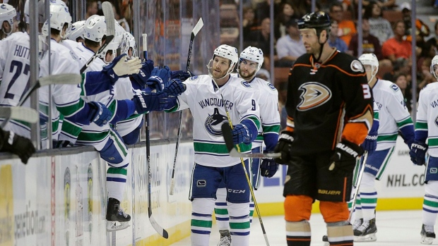 Canucks vs. Ducks