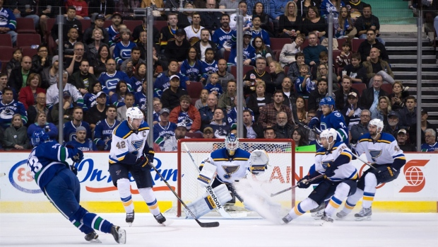 Alexander Steen has a goal and an assist as Blues down Canucks Article Image 0