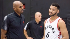 Jerry Stackhouse and Cory Joseph