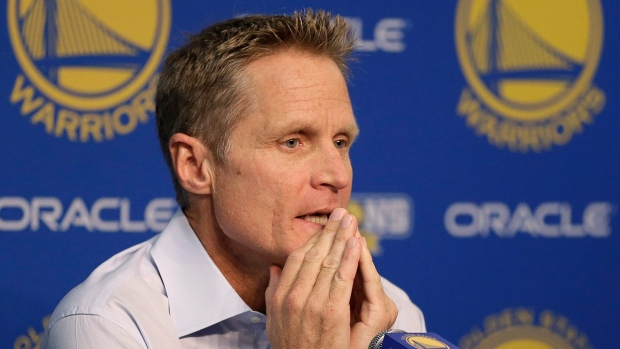 Warriors head coach Steve Kerr sidelined for Game 3 with illness