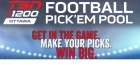 TSN 1200 Football Pick 'Em Pool Feed Link Promo