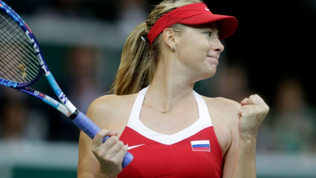 Maria Sharapova: Russian happy to have 'day job back' after doping ban