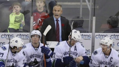 Canucks head coach Willie Desjardins