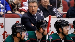 Arizona Coyotes help coach Dave Tippett get win No. 500 in typical grinding style Article Image 0