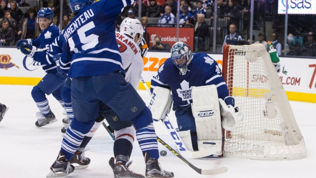 Goaltender Bernier denied first win of season as Capitals defeat Maple Leafs 4-2 Article Image 0