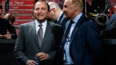 Gary Bettman and Colin Campbell