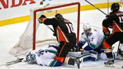 John Gibson makes 25 saves, gets 3rd career shutout and Ducks beat Canucks 4-0 Article Image 0
