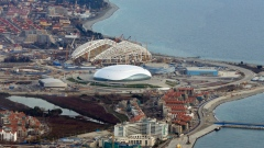 Sochi Olympic Stadium after the 2014 Winter Games