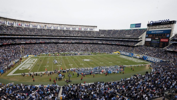 Qualcomm Stadium, San Diego
