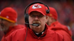 Chiefs coach Andy Reid dabbles in the dab, another example of his ability to relate to players Article Image 0