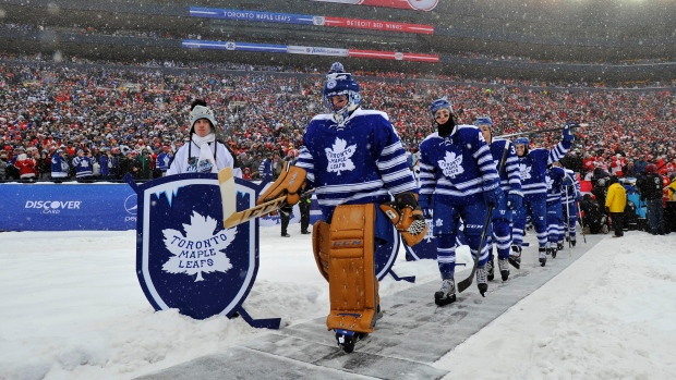 Toronto Maple Leafs at 2014 Winter Classic