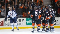 Kevin Bieksa and Ryan Kesler score on power play to help Ducks beat Jets 4-1 Article Image 0