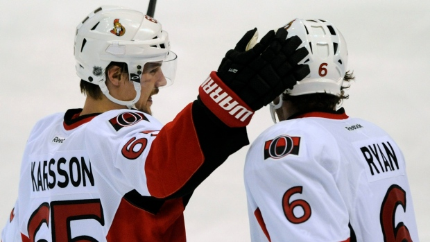 Erik Karlsson and Bobby Ryan