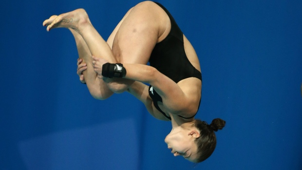 Filion's broken ankle hurts diver's Olympic prep - TSN ca