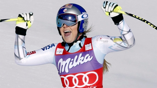 Lindsey Vonn claims 75th World Cup win