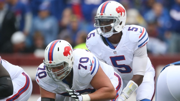 Eric Wood and Tyrod Taylor
