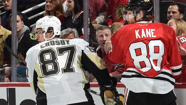 Sidney Crosby and Patrick Kane