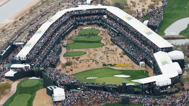 16th hole at tpc scottsdale tests players psyche article tsn