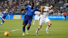 Jozy Altidore and Steven Vitoria