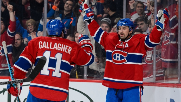 Tomas Plekanec Brendan Gallagher