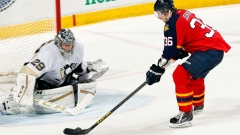Jussi Jokinen and Marc-Andre Fleury