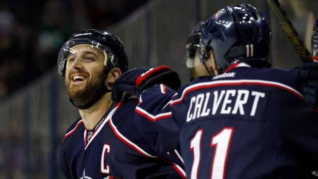 foligno guys Columbus blue jackets forward nick foligno has his focus on a victory in a hospital room in boston it's been good to be around the guys thinking hockey.