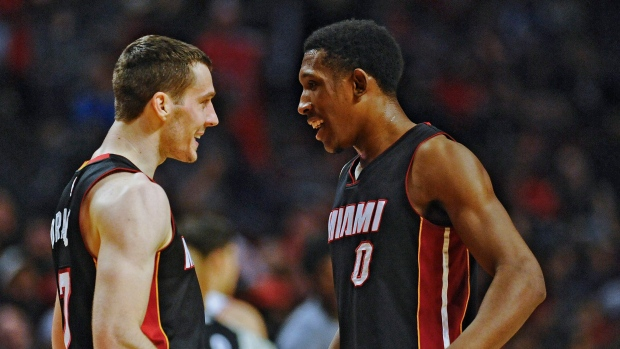 Goran Dragic and Josh Richardson