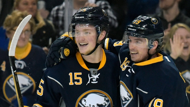Jack Eichel and Cal O'Reilly